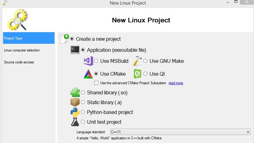 VisualGDB zum Entwickeln von Anwendungen für den Raspberry